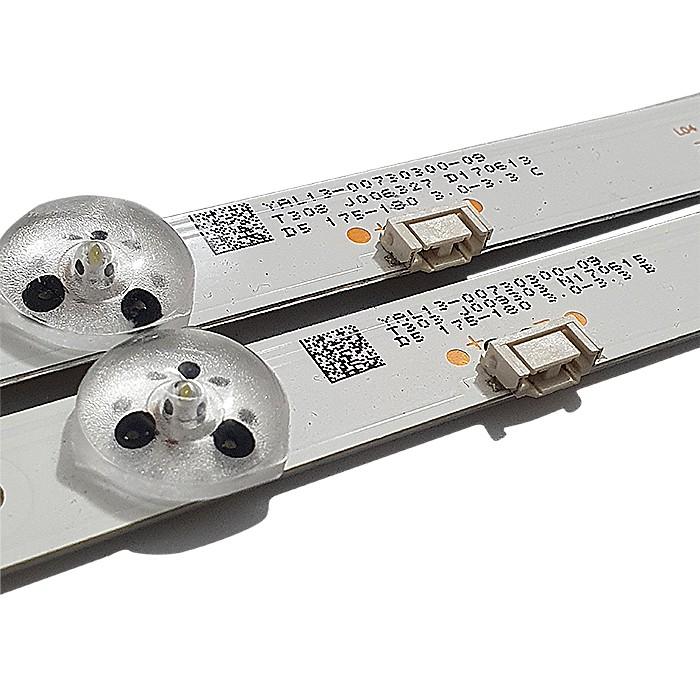 KIT 2 BARRAS LED PHILCO PTV32E20DSGWA JL.D32071330-001CS-M / YAL13-00730300-09