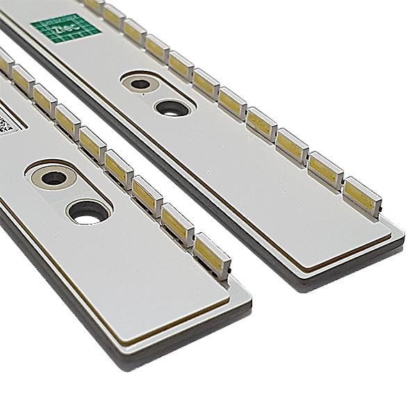 KIT 2 BARRAS LED SAMSUNG CÓDIGO BN96-30656 BN96-30657A MODELO UN55H8000