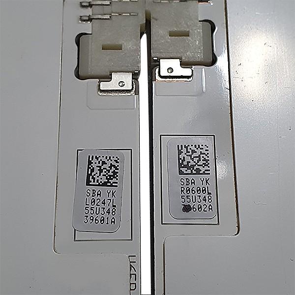 KIT 2 BARRAS LED SAMSUNG MODELO UN55KU6000 UN55KU6500 CÓDIGO BN96-39601 BN96-39602