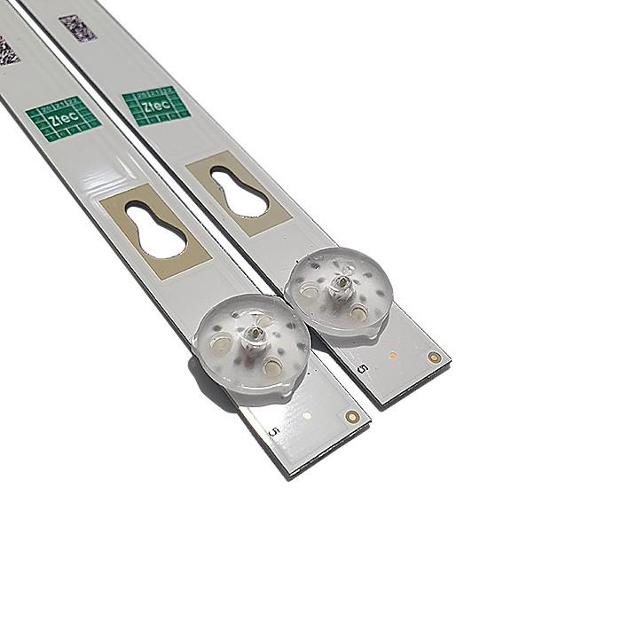 KIT 2 BARRAS LED SEMP TCL MODELO L32S6500S 32S5300 32D1200GL CÓDIGO 32HR332M05A7 V2