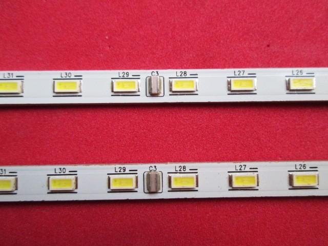KIT 2 BARRAS LED SEMP TOSHIBA LE4057 CÓDIGO *35018294 / KDL40RS611UN