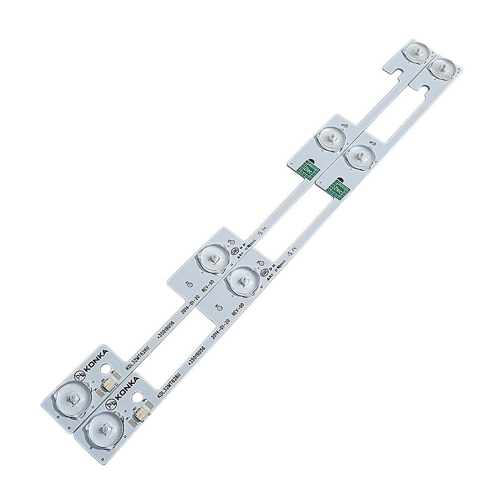 KIT 2 BARRAS LED SEMP TOSHIBA - Modelo 32L2400 / KDL32MT626 | Código *35019056