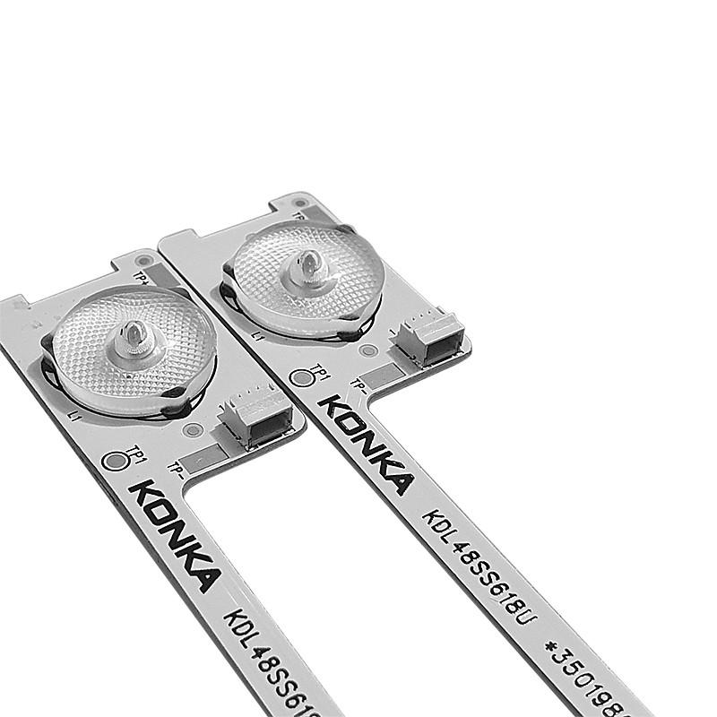 KIT 2 BARRAS LED SEMP TOSHIBA - Modelo  KDL48SS618U | Código *35019862