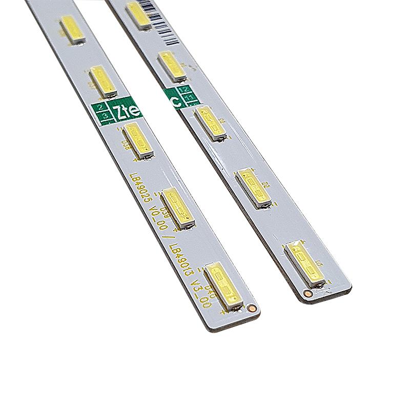 KIT 2 BARRAS LED SONY KD-49XF7073 KDL-49W660E KD-49X720E 40 KD-49XE7096 KD-49XE7002 KD-49XE7093 LB49025 V0_00 LB4913 V3_00