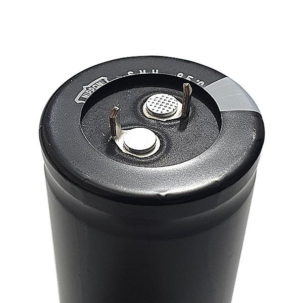 KIT 2 PEÇAS CAPACITOR ELETROLÍTICO - Modelo 10.000uF | 50v | 85ºC | Diam. 29mm / Compr. 45mm