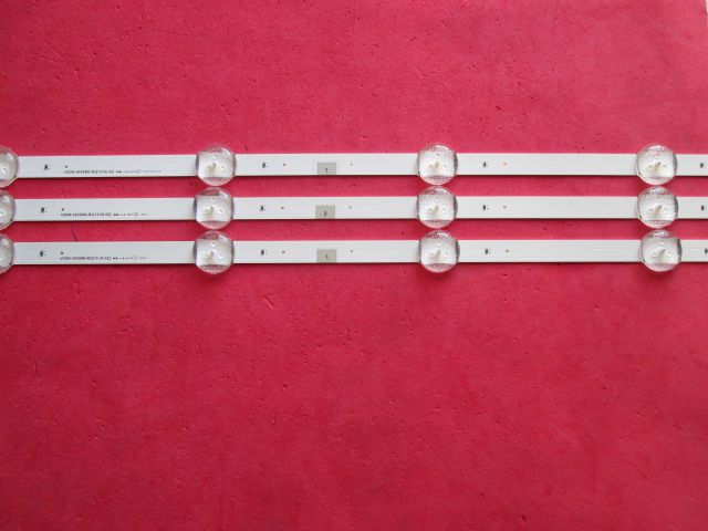 KIT 3 BARRAS DE LED SAMSUNG UN40J5300AG V5DN-395SM0-R2