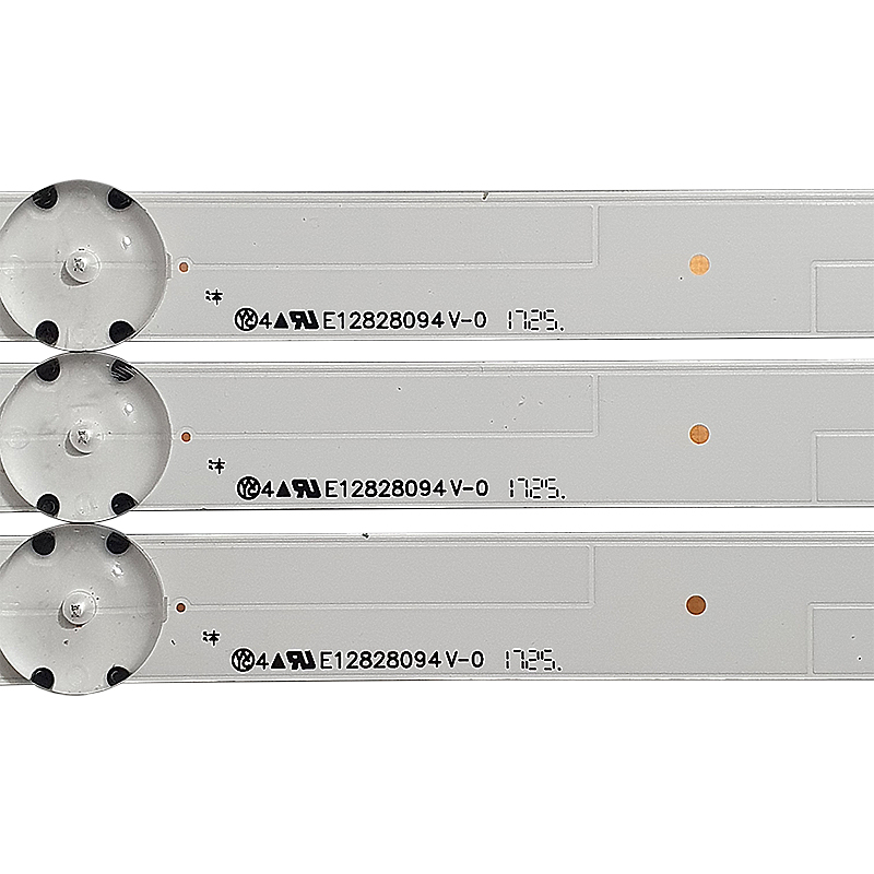 KIT 3 BARRAS LED 43UJ6300 / 43LJ5500 / 43LJ5550 LC43490058A