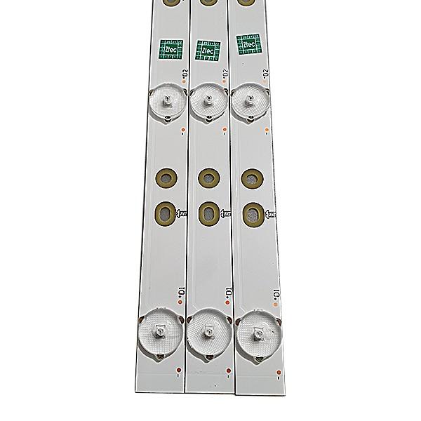 KIT 3 BARRAS LED PHILIPS AOC 32PHG4900 32PHG5201 LE32S5760 LE32D1352 LB-PF3030-GJD2P5C3153X7ALA2-H