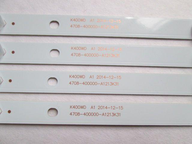 KIT 4 BARRAS DE LED AOC LE40F1465/25 4708-400000-A1213K31