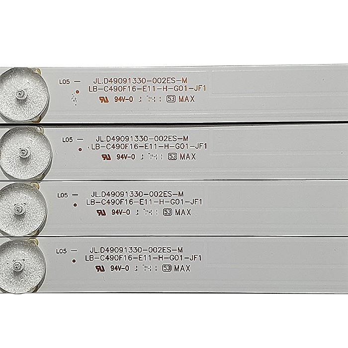 KIT 4 BARRAS DE LED PHILCO - Modelo PTV49F68DSWN | Código JL.D49091330-002ES-M