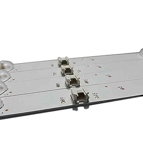 KIT 4 BARRAS DE LED SEMP TOSHIBA - Modelo L43S3900FS - Código KDL43JT662A 35023026