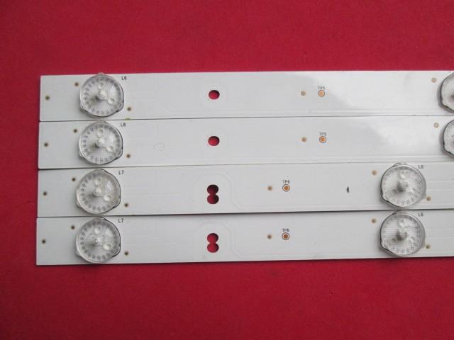KIT 4 BARRAS LED TCL L39S3900FS CÓDIGO KDL39MD662LN 2X *35023224 + 2X *35023227