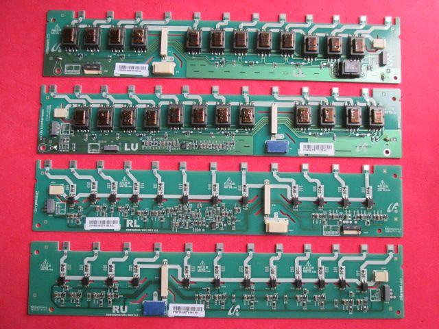 KIT 4 PÇS PLACA INVERTER SAMSUNG MODELO LN52A610A1R CÓDIGO SSB520H24V01 REV 0.3 LL / LU / RL / RU