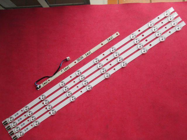 KIT 5 BARRAS DE LED SAMSUNG UN32EH5300G D1GE-320SM1-R1 + BN41-01909A