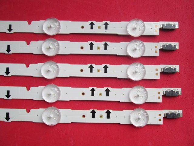 KIT 5 BARRAS DE LED SAMSUNG UN40H6400G UN40J5000 UN40J5000AG LM41-00041P