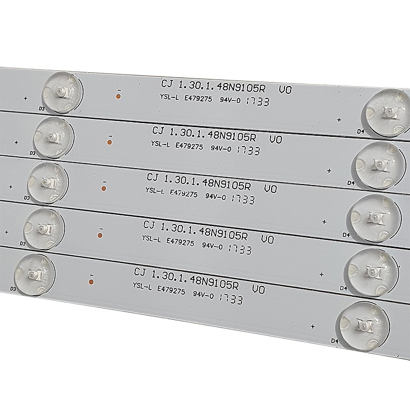 KIT 5 BARRAS LED PHILCO - Modelo PTV48A12DSGWA   Código CJ 1.30.1.48N9105R V0