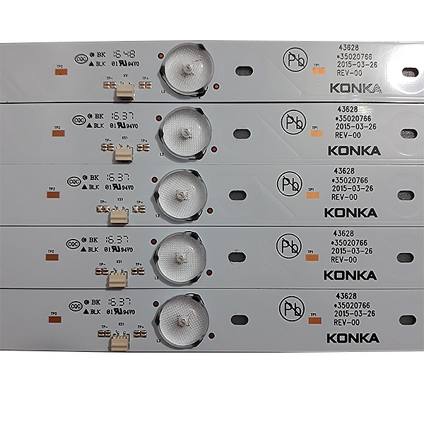 KIT 5 BARRAS LED TV TOSHIBA - Modelo 43L2500 | Código *35020766