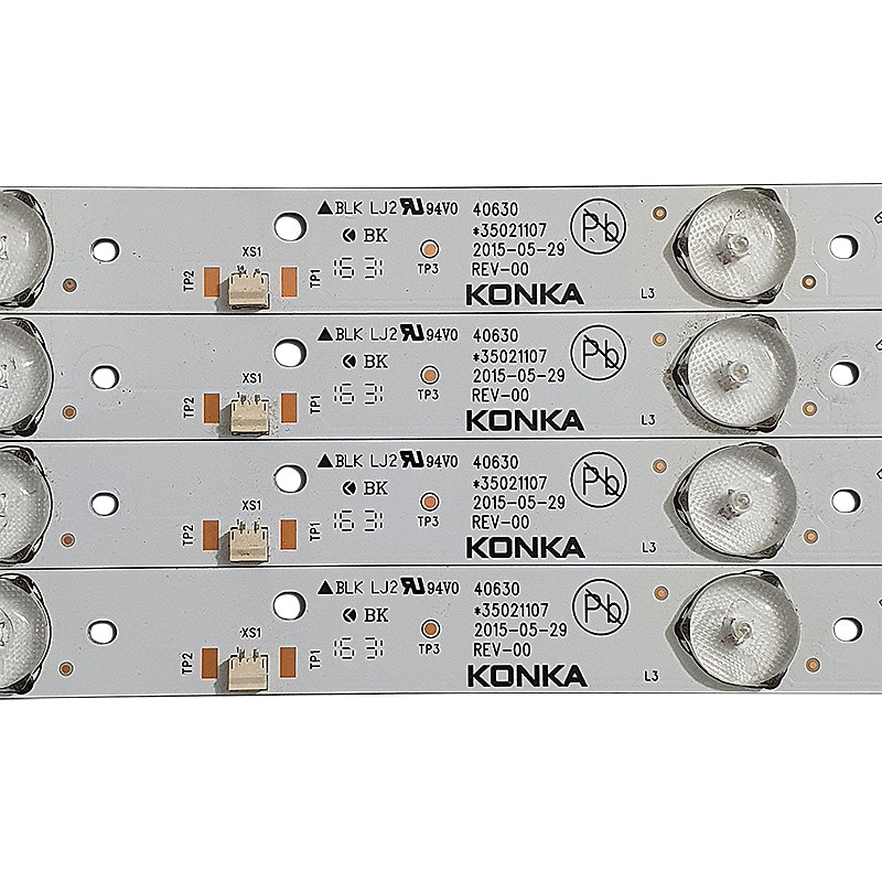 KIT 6 BARRAS LED SEMP TOSHIBA - Modelo DL4053 / 40L2500 / 40L1500 | Código *35021107