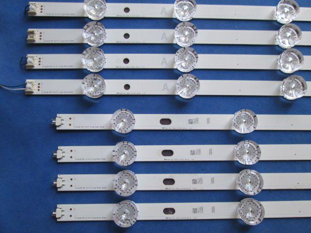 KIT 8 BARRAS LED LG 47LB6300 6916L-1961A 6916L-1962A