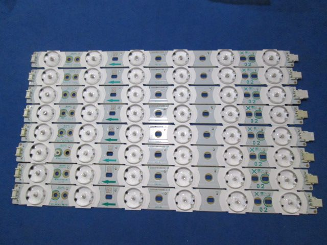 KIT 8 BARRAS DE LED PHILIPS 46PFL5615 A666WJ-9X  02
