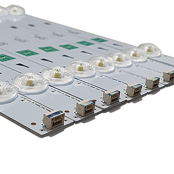 KIT 8 BARRAS DE LED SEMP TOSHIBA - Modelo L55S4700FS / L55S4700 | Código TOT_32F3800A_2X5_3030C_V3