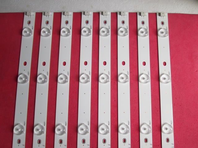 KIT 8 BARRAS LED TV PHILIPS 55PFG7109/78 IC-C-TBAC55D275R