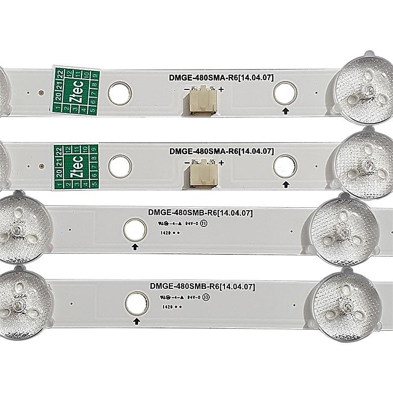 KIT 8 BARRAS SAMSUNG - Modelo UN48H4203AG   Código DMGE-480SMA-R6 + DMGE-480SMB-R6