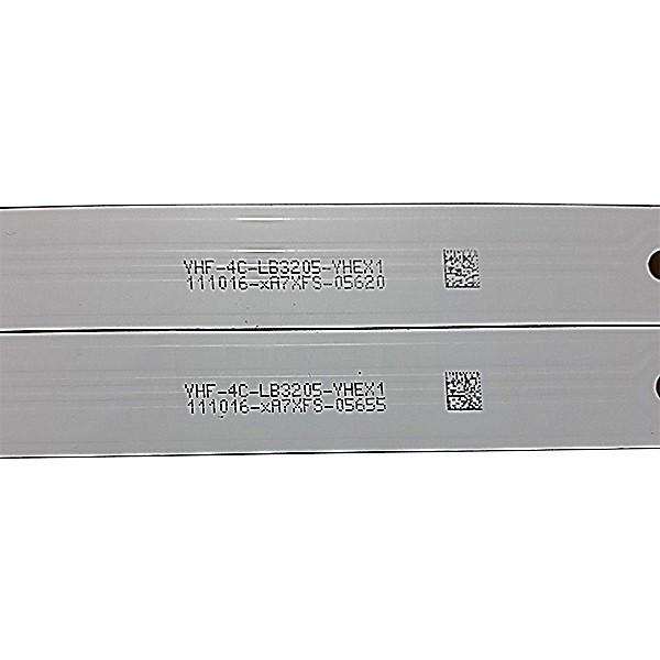 KIT 8 BARRAS TCL - Modelo L48S4700FS | Código Tot_32f3800a_2x5_3030C_V3