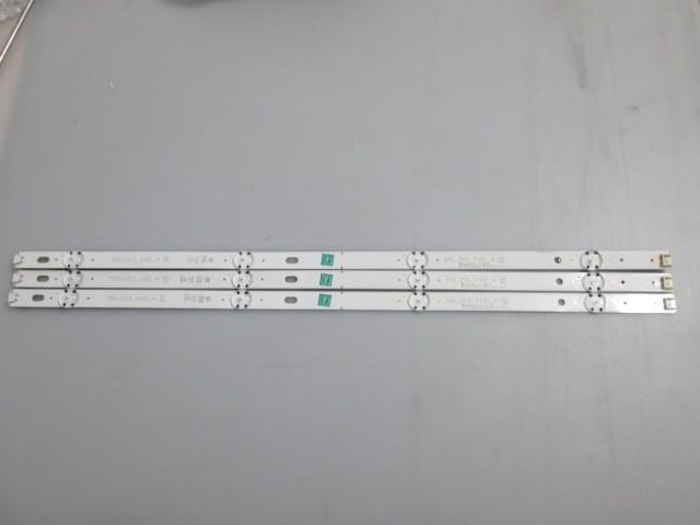 KIT INCOMPLETO 3 BARRAS DE LED LG 55LJ5550 CÓDIGO SSC_55LJ55/55UJ63_A_8LED_REV02
