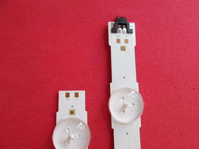 KIT PAR DE BARRAS LED SAMSUNG UN48JU6000G UN48JU6400AF UN48JU7500F 1X LM41-00121G + 1X LM41-00121H