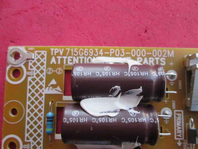 PLACA FONTE AOC MODELO LE43S5970S CÓDIGO 715G6934-P03-000-002M