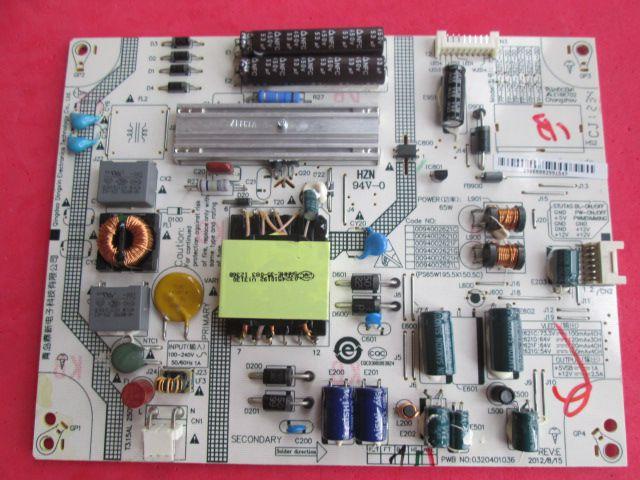PLACA FONTE HBUSTER MODELO HBTV-32L07HD 0320401036 / 0094002621C/D/F/H/L  NOVA E TESTADA.