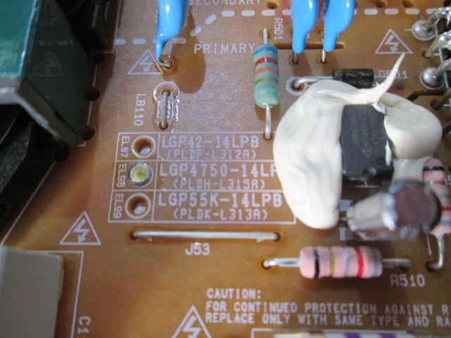 PLACA FONTE LG MODELO 47LB7000 50LB7000 CÓDIGO EAX65424001(2.2) 3PCR00364A