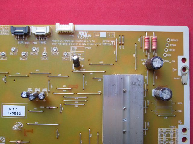 PLACA FONTE LG MODELO 65UH8500 CÓDIGO EAY64269111 OPVP-0305 V1.1