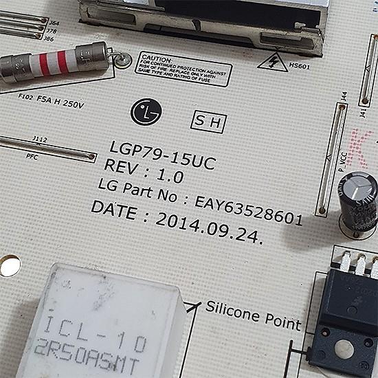 Placa Fonte LG 77UG8800 LGP79-15UC EAY63528601
