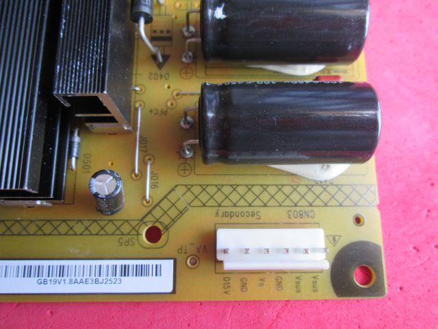 PLACA FONTE PHILCO MODELO PH51C20 PH51C20PSG R-HS250B-5HF02