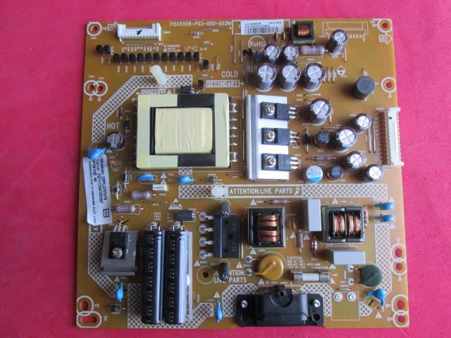 PLACA FONTE PHILIPS MODELO 32PFL3707D/78 715G5508-P03-000-002M