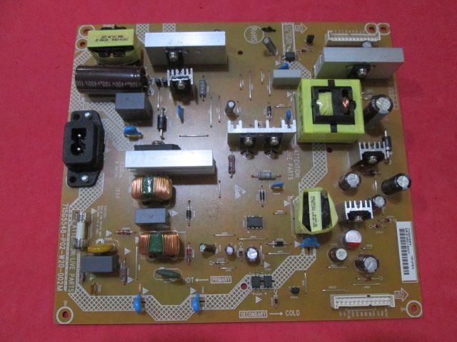 PLACA FONTE PHILIPS MODELO 42PFL3507D/78 715G5548-P02-W20-002M / 310610854191 Conexão PRETA  NOVA  - Jordão R.Camacho