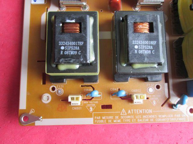 PLACA FONTE SAMSUNG MODELO LN52A610 CÓDIGO BN44-00201A