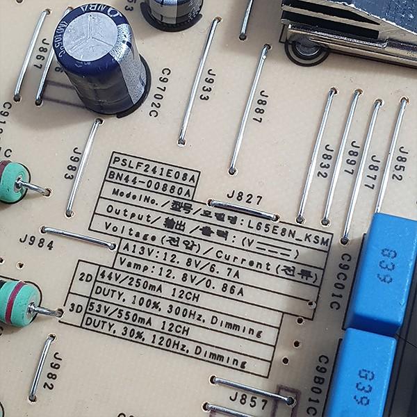 PLACA FONTE SAMSUNG - Modelo UN65KS9000G / UN65KS9000 | Código BN44-00880A