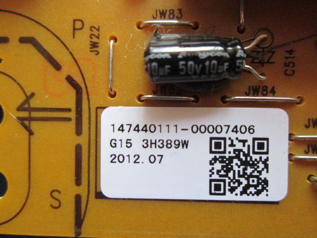 PLACA FONTE INVERTER SONY XBR-65HX950 / 925 G15 3H389W / PSC10374A M / 147440111