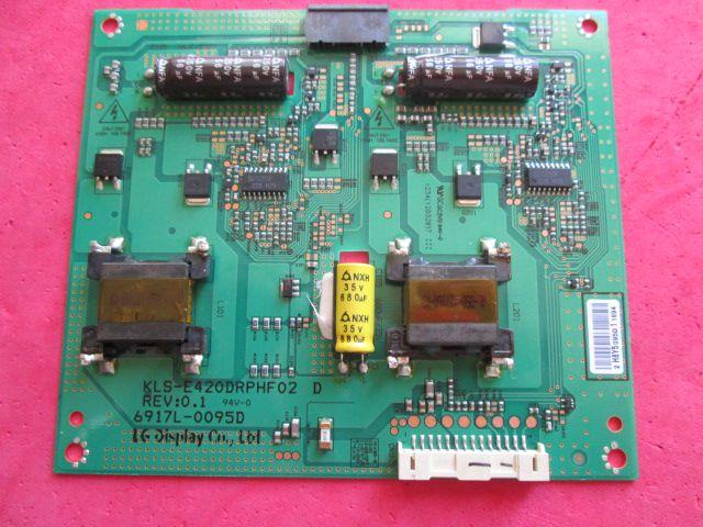 PLACA INVERTER LG MODELO 42PFL3507 6917L-0095D / KLS-E420DRPHF02 D