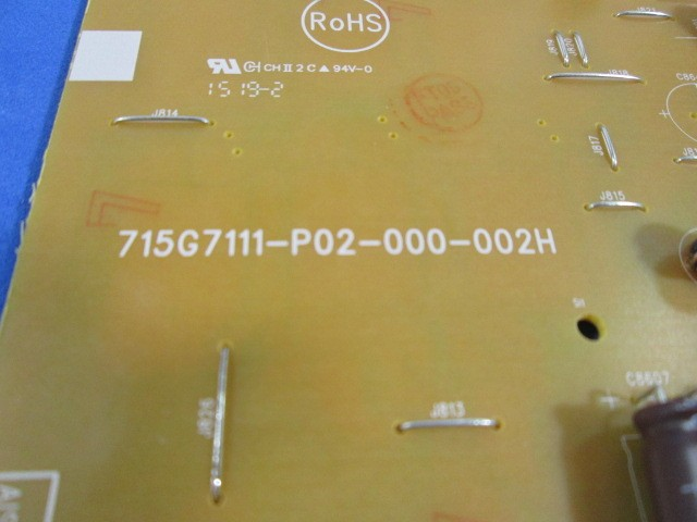 PLACA FONTE AUXILIAR PHILIPS 49PUG7100/78 55PUG7100 715G7111-P02-000-002H