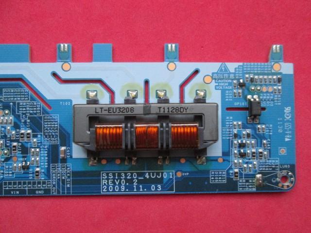 PLACA INVERTER SEMP TOSHIBA MODELO 32RV700(A) CÓDIGO SSI320_4UJ01 REV0.2