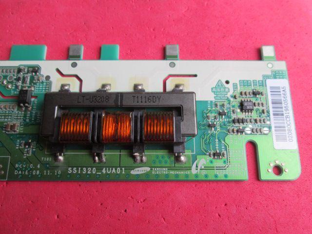 PLACA INVERTER Toshiba / Samsung / Philco MODELO PH32M6 LN32D550 D32W931 CÓDIGO SSI320_4UA01   - Jordão R.Camacho