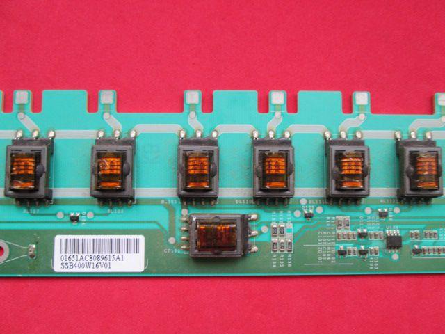 PLACA INVERTER TV SAMSUNG MODELO LN40A330J1 LN40A450C1 CÓDIGO SSB400W16V01 REV0.1