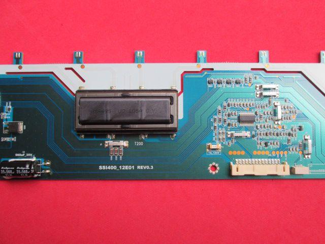 PLACA INVERTER TV SEMP TOSHIBA MODELO 40E200U CÓDIGO SSI400_12E01 REV0.3