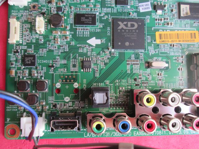 PLACA PRINCIPAL LG MODELO 47LA5800 EAX64910708(1.0) / EBT62413101  NOVA