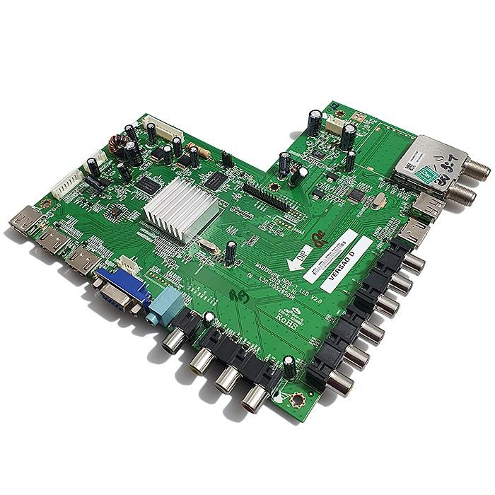 PLACA PRINCIPAL PHILCO - Modelo PH32N53T   Código MSD1309PX_ISDB-T LED V2.0 1.30.1.19529501R