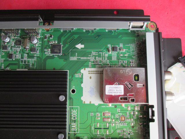 PLACA PRINCIPAL TV LG MODELO 55LW9800 EAX63026806(0) / EBT61378207  ORIGINAL NOVA COM GARANTIA.